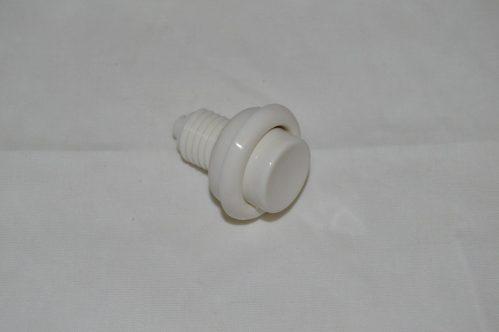 White Flipper Button A-16883-5