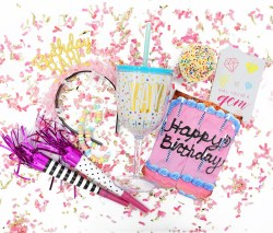 Birthday babe styled shot - WOW Box - Little Shop of WOW