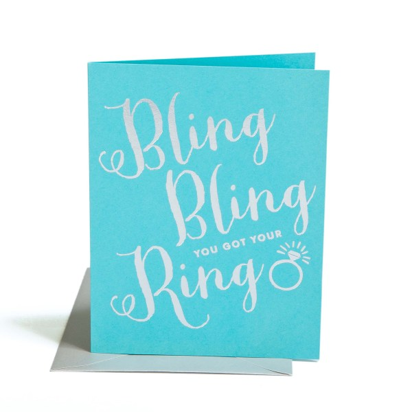 1020_BlingBling - The Social Type - Little Shop of WOW - OMG You're Engaged Wow Box Gift Box Basket Canada #FunVibesOnly