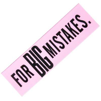 For Big mistakes giant eraser - Little Shop of WOW