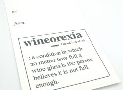 Wineorexia Close Up Wine Tag- Chez Gagne - Little Shop of WOW