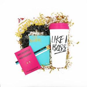 wow box #Girlboss Gift Box like a boss little shop of wow boss babe