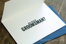 Get Me a stripper groomsman - Marrygrams - Little Shop of WOW