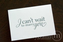 I can't wait to marry you card - marrygrams - little shop of wow