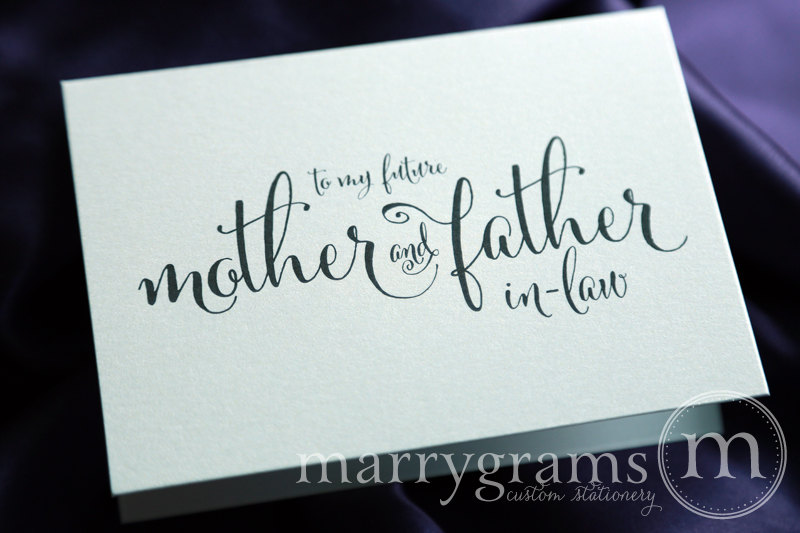 To My Future Mother & Father In-Law - Little Shop of Wow