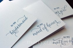 To My maid of honor card 2 - marrygrams - Little Shop of WOW