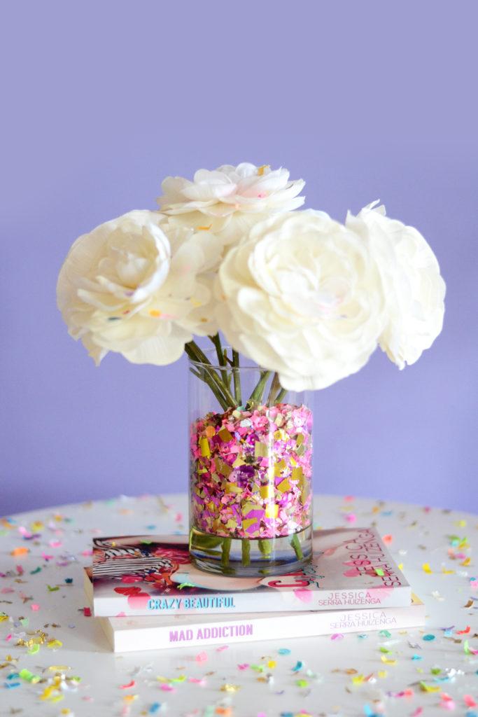 Confetti Bar - DIY Confetti Vase