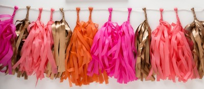 happy-birthday-babe-pret-a-party-box-little-shop-of-wow-adult-party-in-a-box-coral-pink-gold-gold-tassle-banner-the-flair-exchange-coral-pink-orange-gold