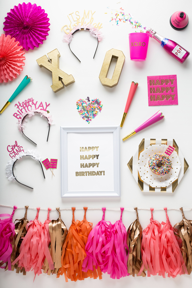 Happy BirthYAY! - Prȇt-à-Party Box - Little Shop of WOW