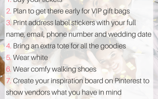 10-wedding-show-prep-tips-Little Shop of WOW - Brides - Wedding - Bridal Canada