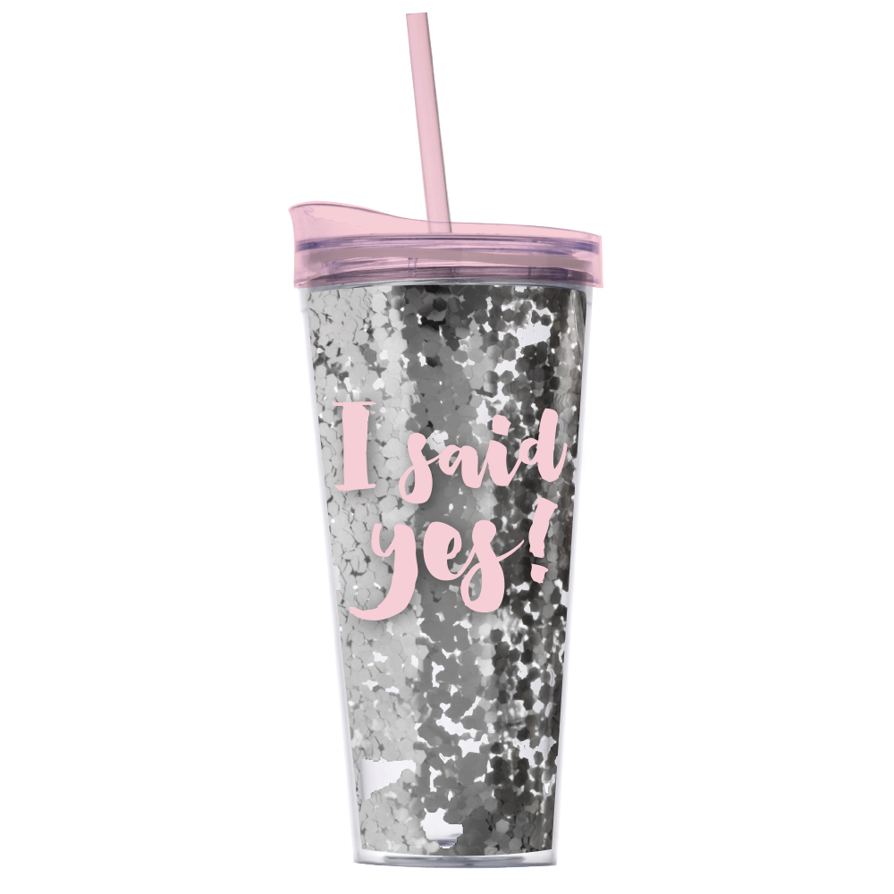 I Said Yes! Travel Mug - Little Shop of WOW