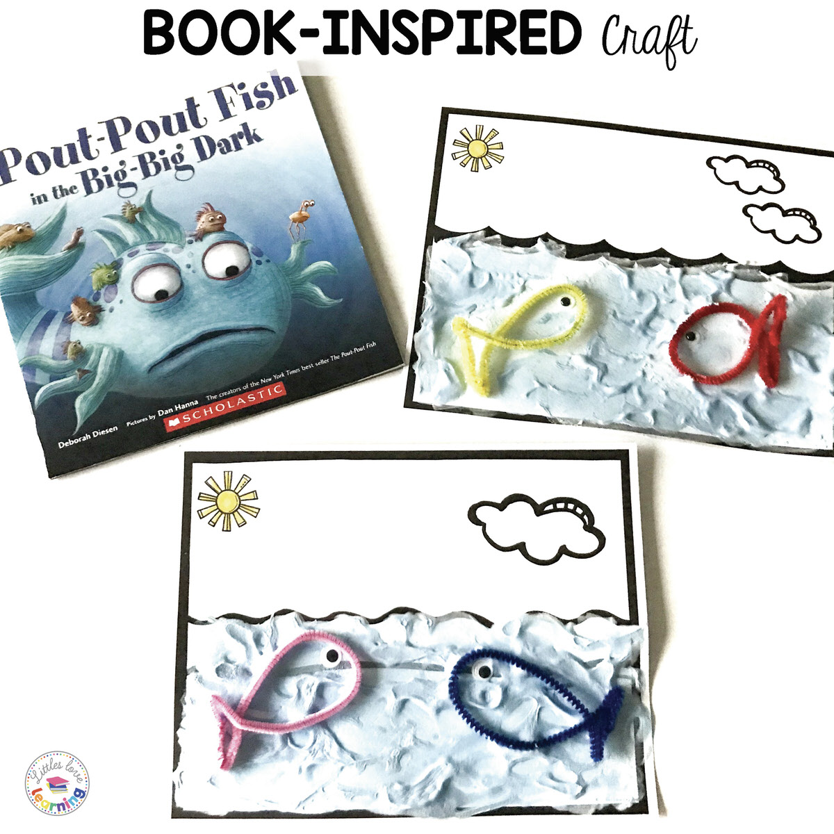 Pout Pout Fish Activities Ocean Theme For Preschool And