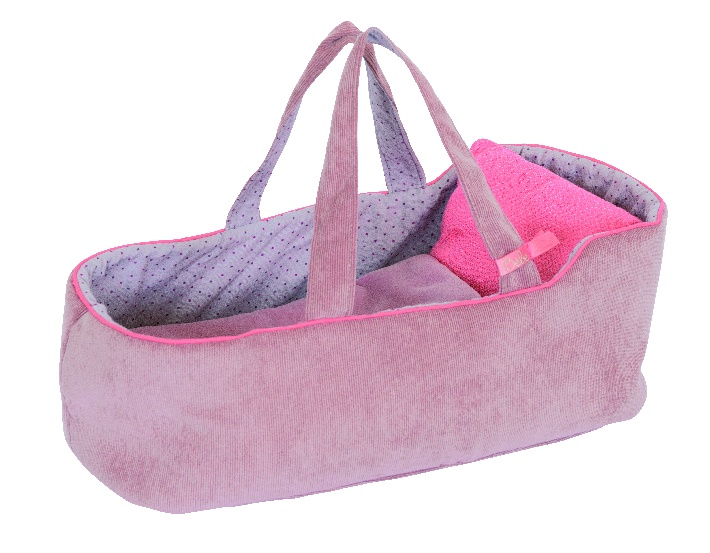 Les Coquettes doll carry bed