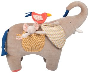 Les Papoum activity elephant - Moulin Roty