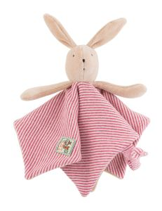 Sylvain the rabbit comforter, Moulin Roty, comforters, doudous, baby toys