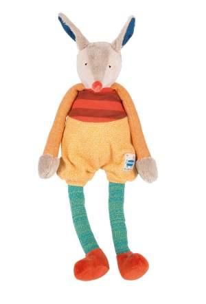 Les Zig et Zag yellow dog doll - soft toys, baby toys, dolls, Moulin Roty toys Australia
