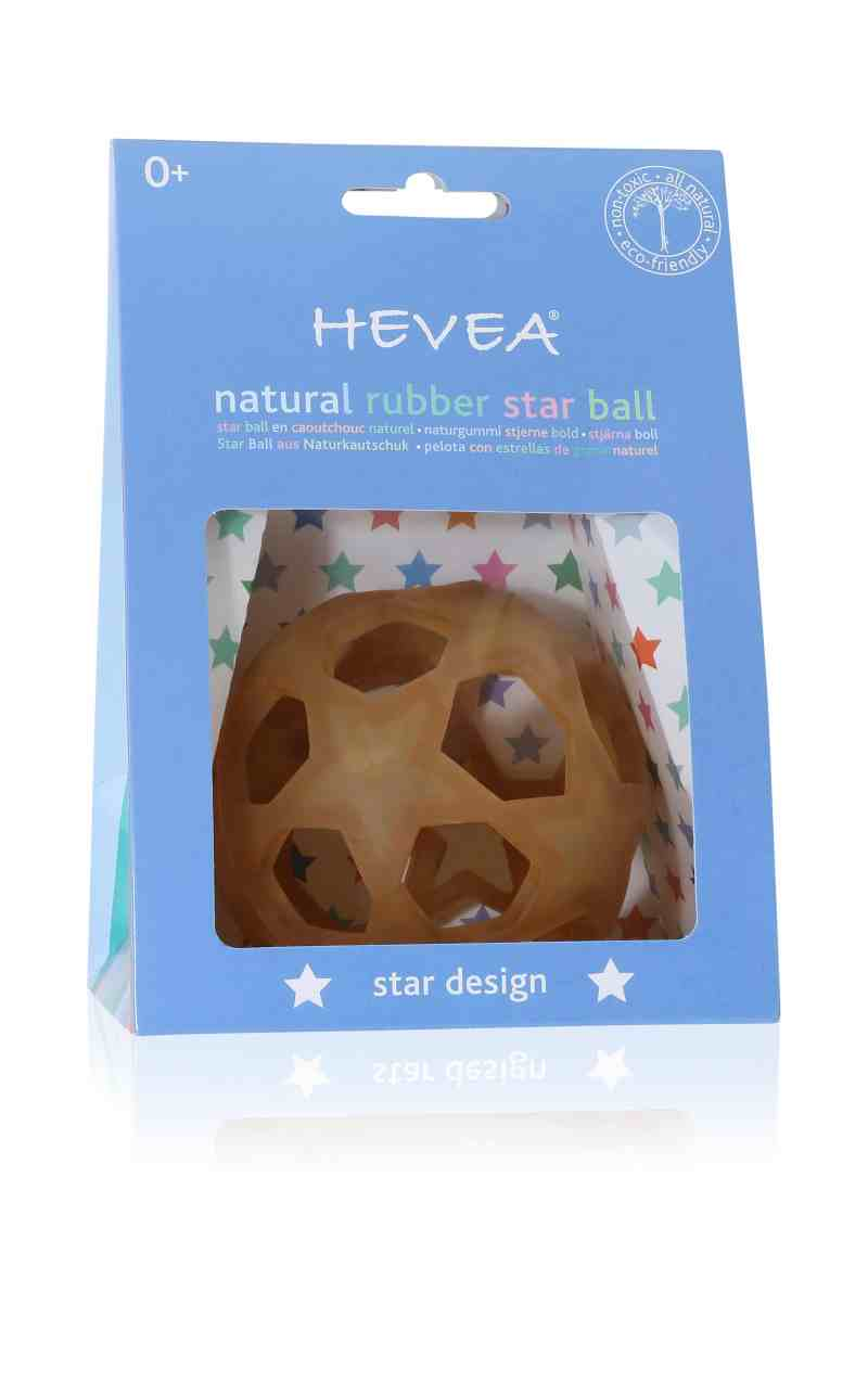 Hevea Natural Rubber Star Ball