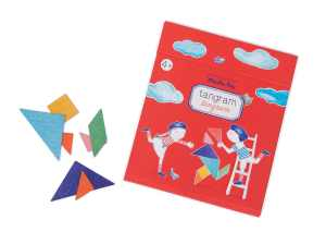 magnetic tangram for travel and development of numeracy skills in children