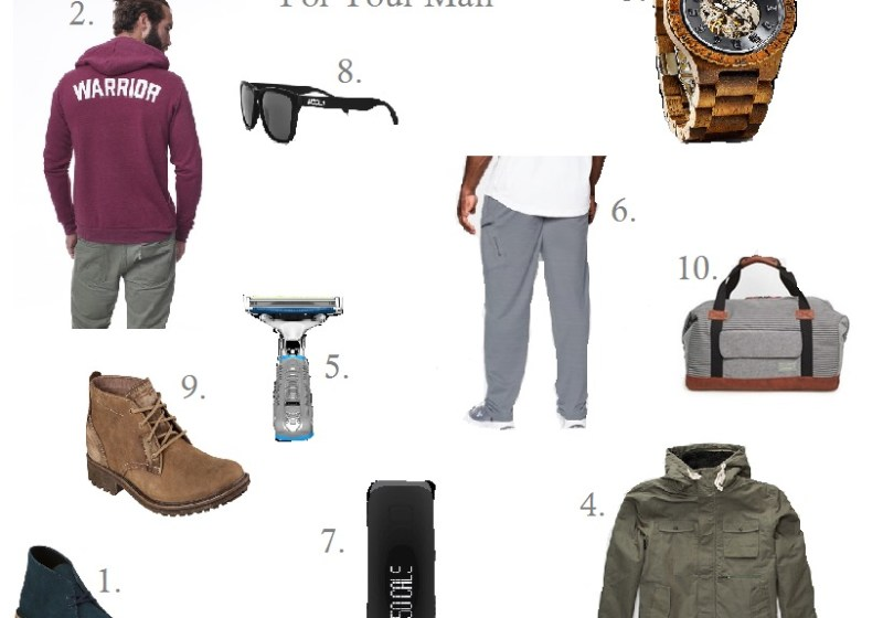 Holiday Gift Guide: for your man