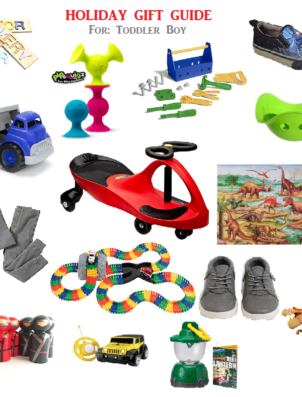 Holiday Gift Guide – Toddler Boy
