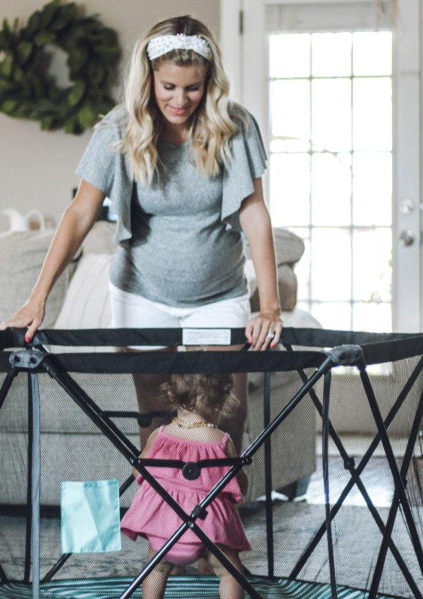 Mommin' Made Easy with the Baby Delight Playpen + G I V E A W A Y