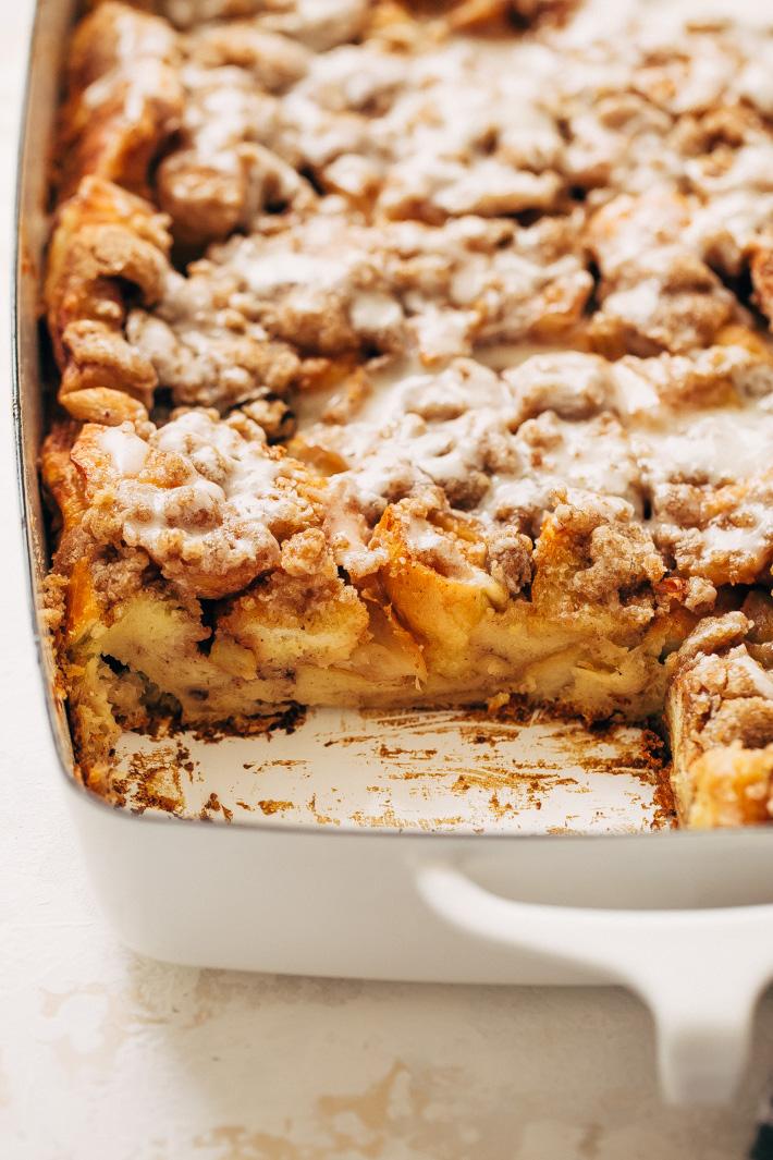 Apple Pie French Toast Bake or Casserole Recipe  Little Spice Jar