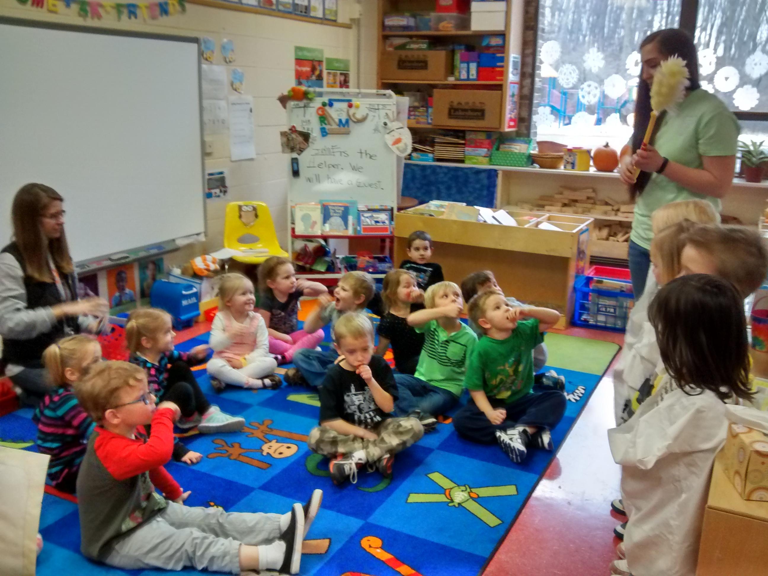 School Presentations Day 2 At Woodview Elementary School