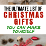The Ultimate List Of Homemade Christmas Gifts
