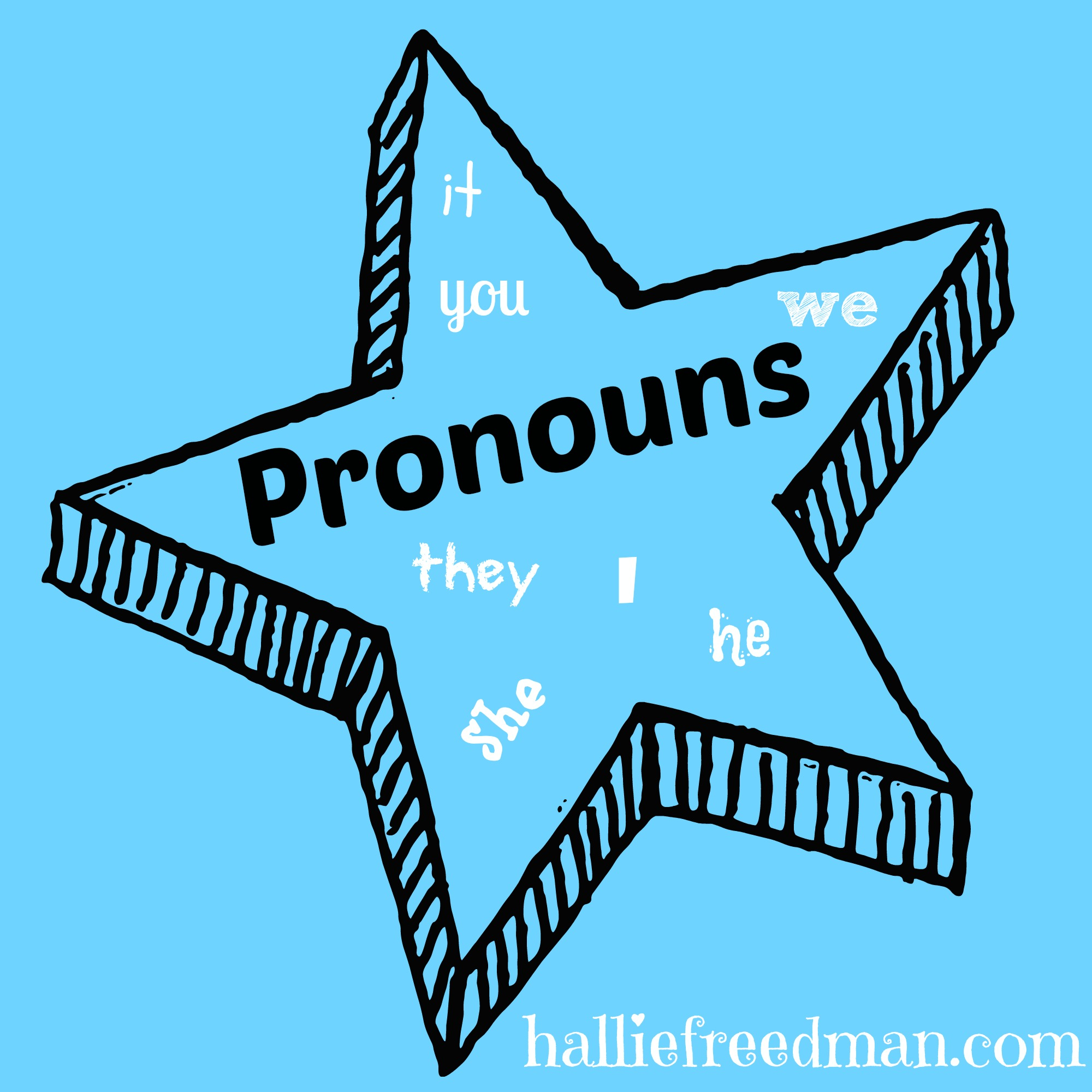 Pronouns 6th Grade