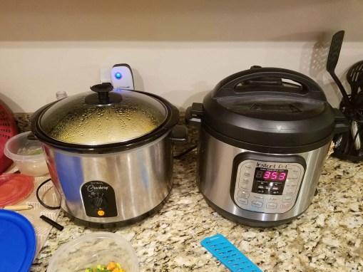 Crockpot and Instant Pot