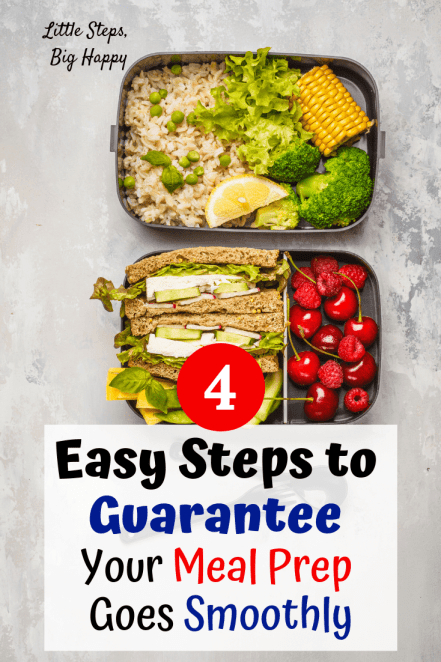 How to Meal Prep in 4 Easy Steps