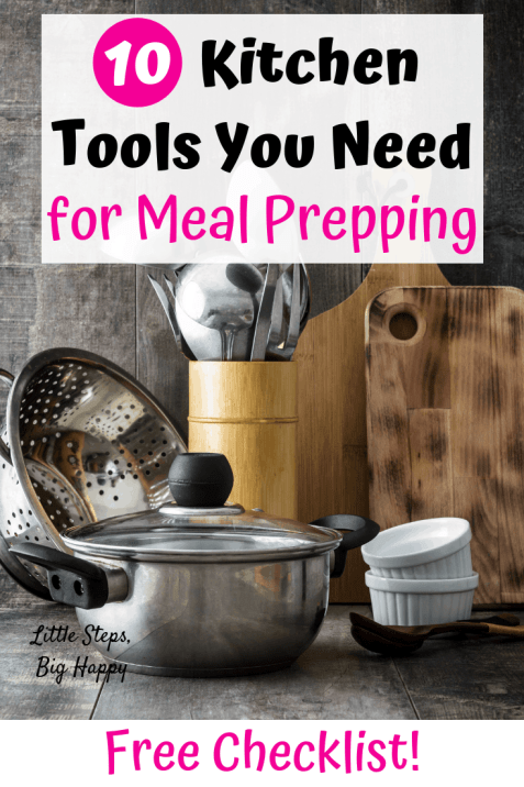Kitchen tools you need to meal prep