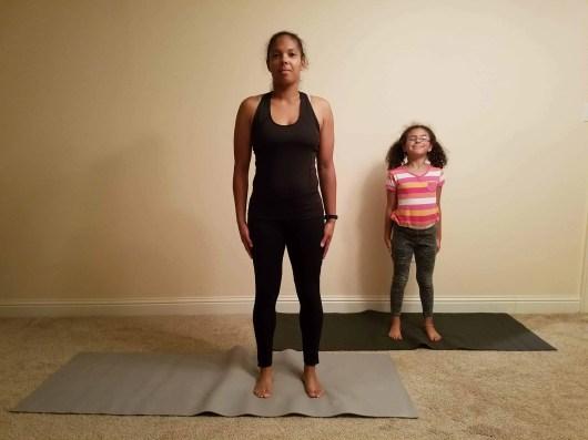 Family Friendly Yoga Routine: Mountain Pose