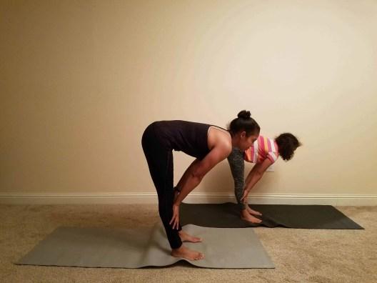 Family Friendly Yoga Routine: Standing Forward Fold