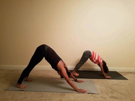 Family Friendly Yoga Routine: Downward Dog