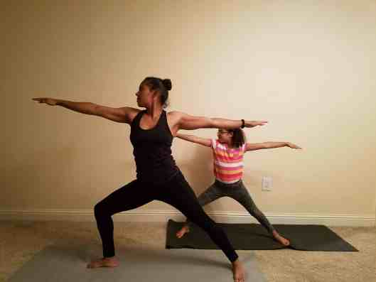 Family Friendly Yoga Routine: Warrior II Right Side