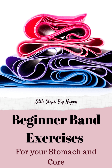 Beginner Resistance Band Exercises for Your Abs