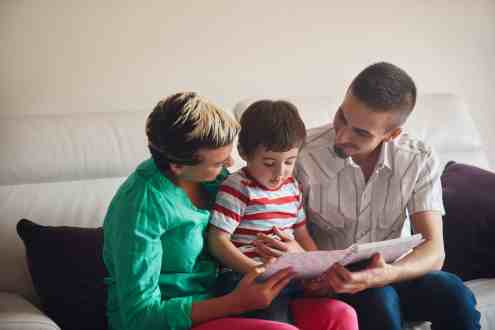 Family Activities: Read together.
