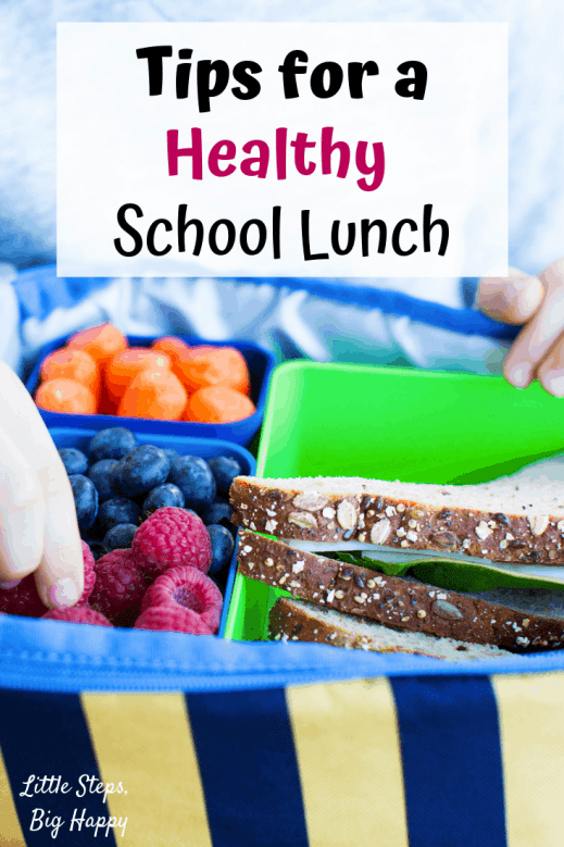 How to Pack a Healthy School Lunch