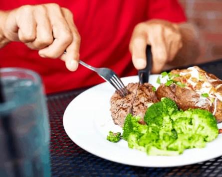 eat a balanced meal