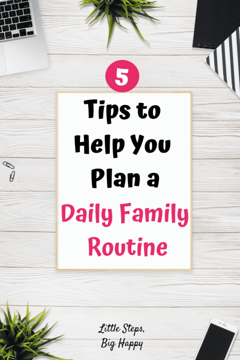 Family Routine Tips
