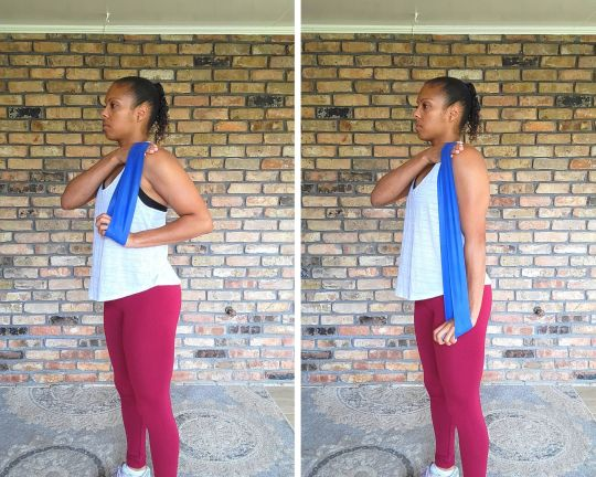 Tricep Pulldown - Resistance Band Exercises for Arms