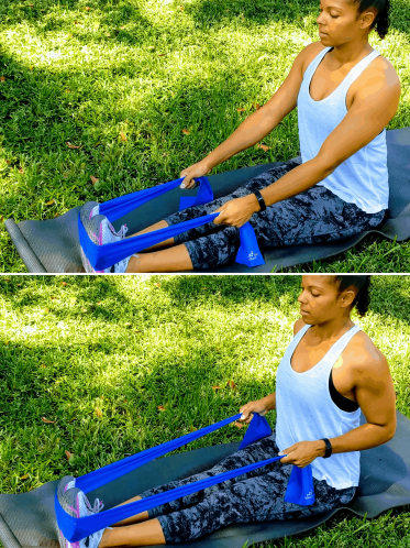 Two Arm Row - Resistance Band