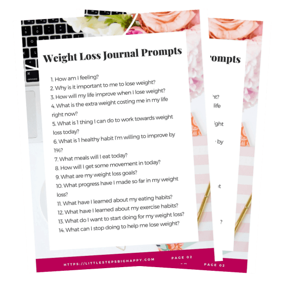 25 Weight Loss Journal Prompts