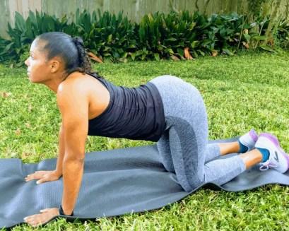 Beginner Yoga Routine - Cow Pose