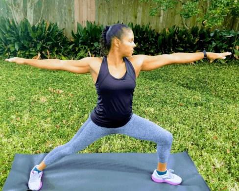 Beginner Yoga Routine - Warrior II Left Leg