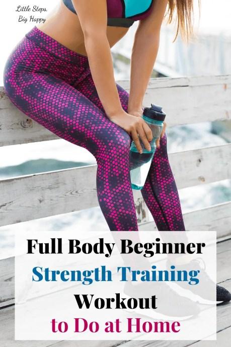 Full Body Beginner Strength Training Workout