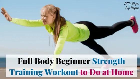 Full Body Circuit - Beginner Strength Training Workout
