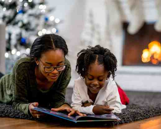 Indoor Christmas Activities for Families - Read Christmas books