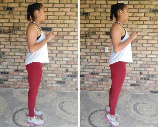 Calf Raises - Quick Beginner Full-Body Workout - No Equipment